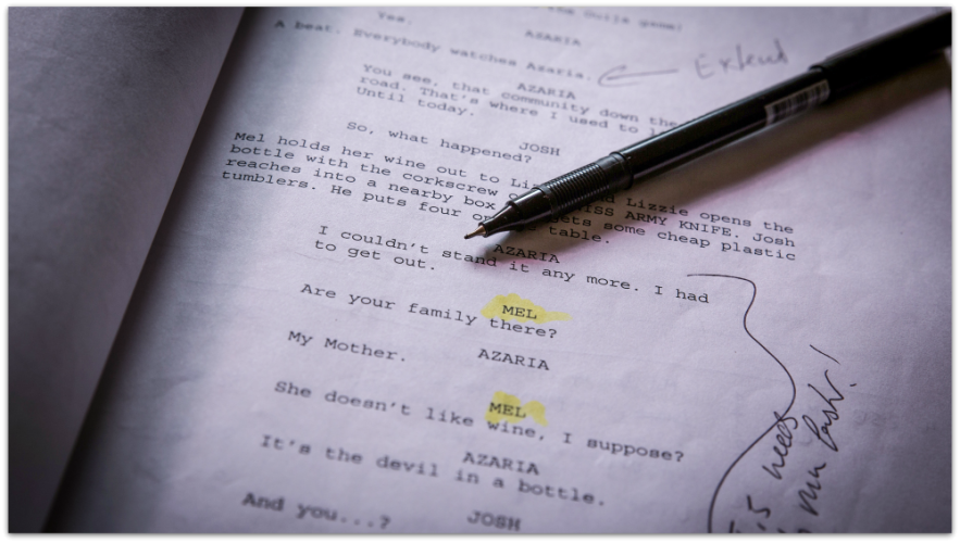 Notes on a script
