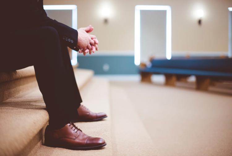 feet closeup of person sitting