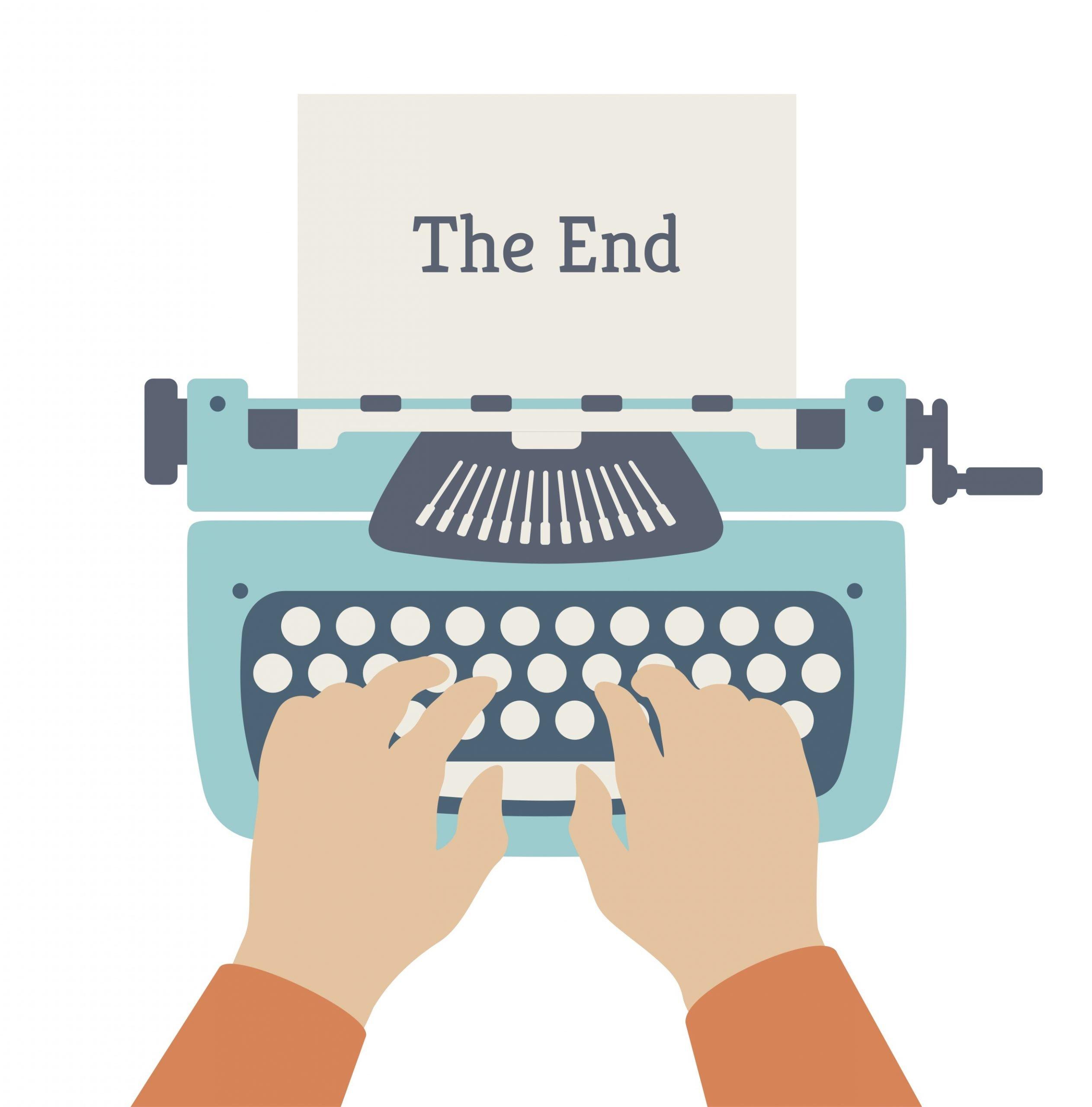 typewriter clipart