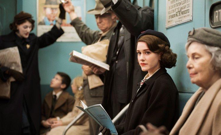 woman reading in public