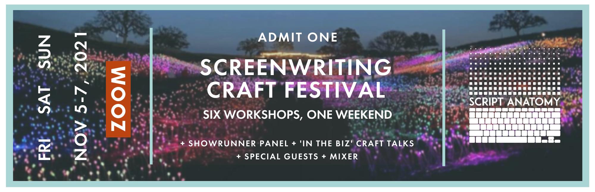 Screenwriting Craft Festival Pass