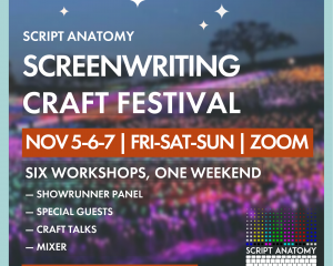 Screenwriting Craft Festival Image